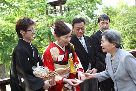 【挙式+会食】家族結婚式プラン
