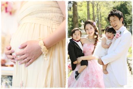 【挙式+披露宴】マタニティ&パパママ婚プラン