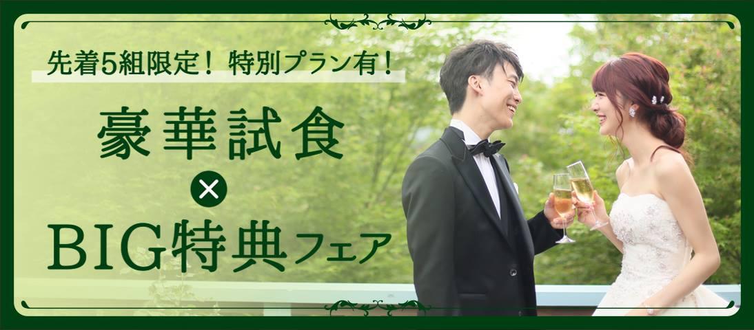 豪華試食×BIG特典フェア