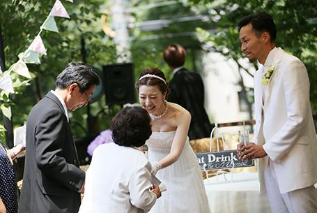 1組限定、ぬくもりの結婚式を