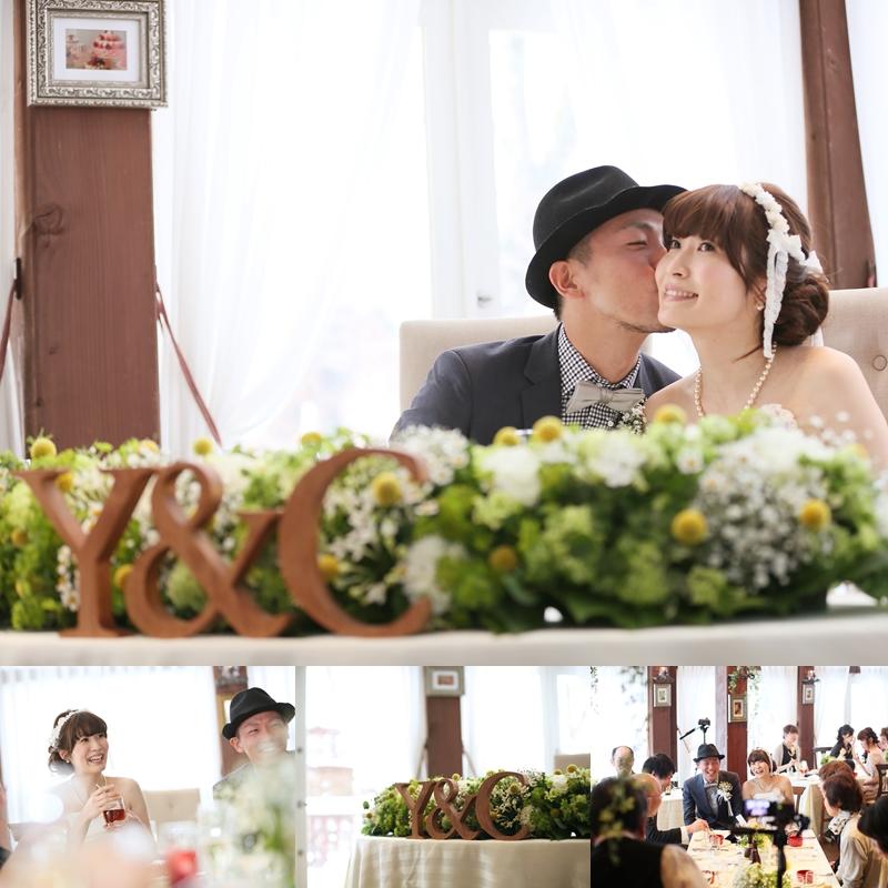 森のWhite Wedding